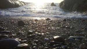 The beautiful coastline of North Devon near Croyde Bay and Saunton Sands