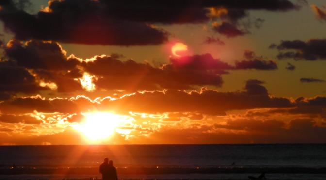 Croyde Beach Sunset