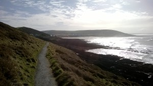 Croyde headland walks