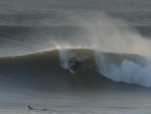 Big waves at Croyde