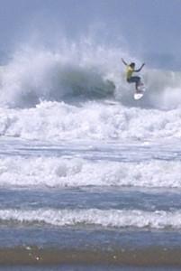Croyde surfs up