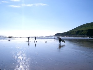 Saunton Beach and the Braunton Sand Dunes