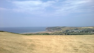 Croyde to Saunton Sands Hotel Walk via Down End