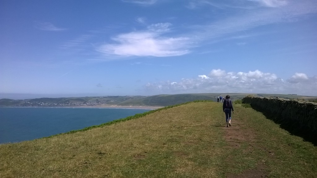 Croyde to Putsborough walk round Baggy Point