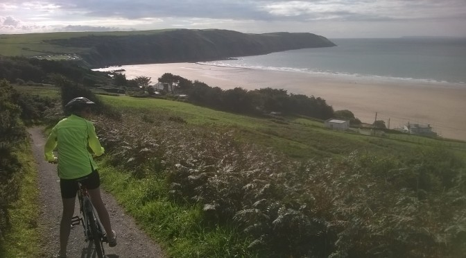 Woolacombe to Putsborough Cycle Ride from The Gallery Lodges