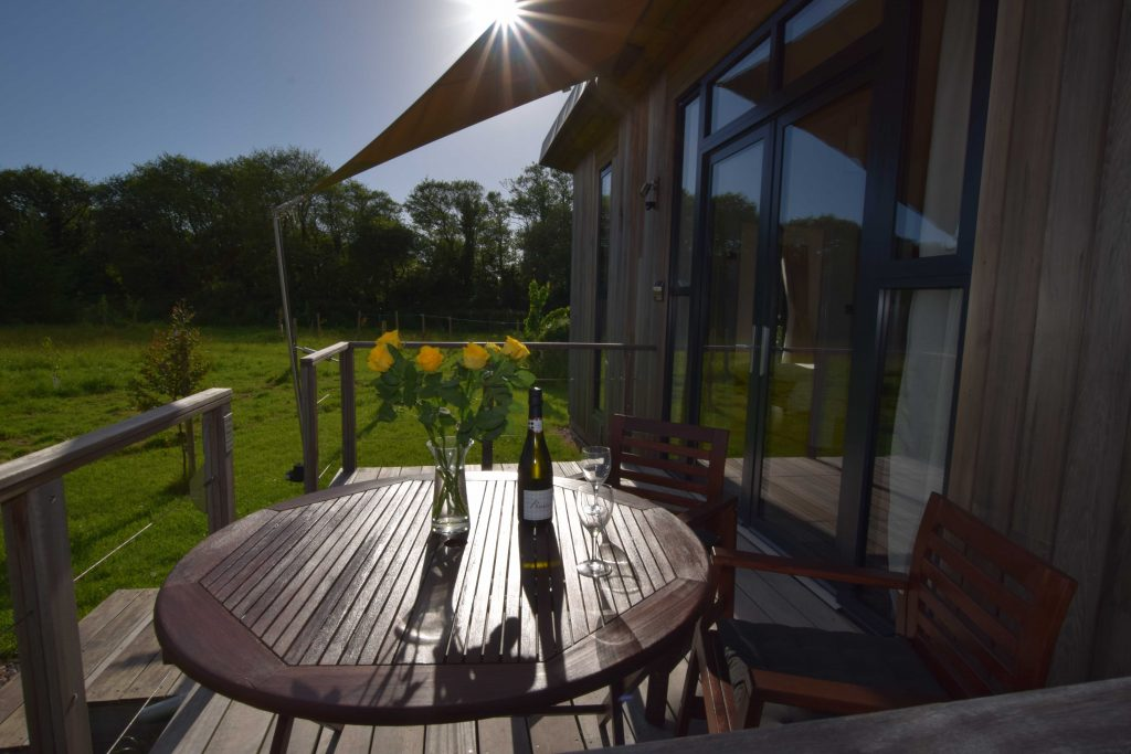 Lodge 3 deck views of the meadows