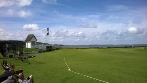 Tarka Trail and scenic Cricket ground at Instow
